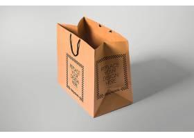 高质量手提袋品牌包装样机