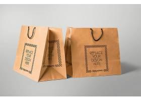 品牌手提袋包装样机