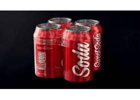 易拉罐飲品罐頭產品包裝智能樣機