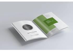 高端简约杂志设计画册设计模板