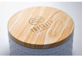 精美包装盒样机logo贴图