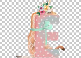 水彩长颈鹿