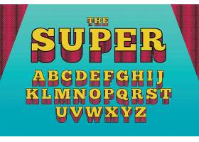 3D彩色个性英文字母素材