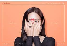 韩式人物生活与记录VCR主题海报设计