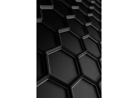 黑色商务晶格科技背景