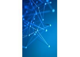 蓝色晶格科技背景