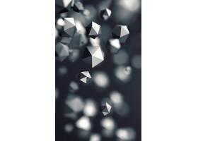 灰色晶格科技背景