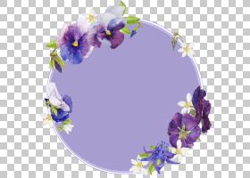 花卉边框免扣元素素材图片