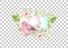 鸟巢鸟蛋免扣文艺元素素材