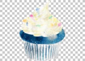 蛋糕甜品手绘插画免扣元素素材