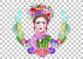 水彩人物主题时尚插画免扣素材