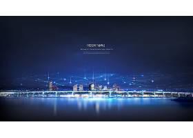 美丽的城市夜景
