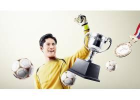 足球运动员主题人物海报设计