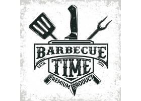 餐饮烹饪主题图标LOGO徽章设计