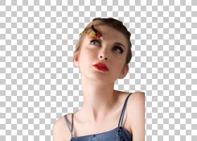 女性美睫艺术照