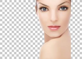 女性面部表情