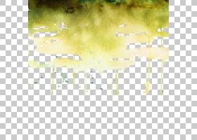 水彩痕迹云彩免扣素材