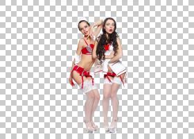性感的女性二人组合