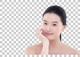 女性美白美容面部管理