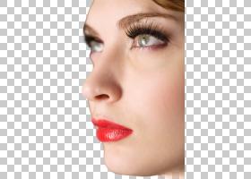 女性侧脸素材