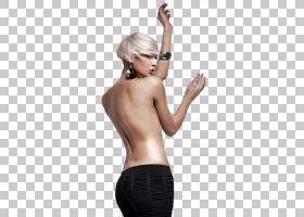性感的裸露女性后背