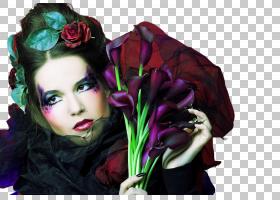 黑暗风女性艺术照