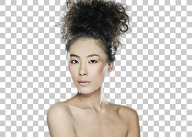 裸露上半身的女性艺术照
