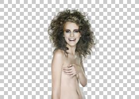 赤裸上身的女性艺术照