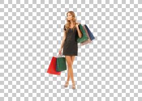 现代时尚购物女性