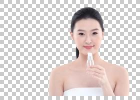女性面部皮肤美容美白管理