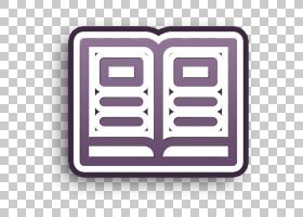 书本图标教育图标打开书本图标,矩形,正方形,徽标,紫罗兰,线路,文
