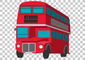 打开书本,小汽车,货运,线路,运输,车辆,双层巴士,英国,着色手册,