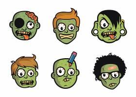 科学怪人头像插画设计