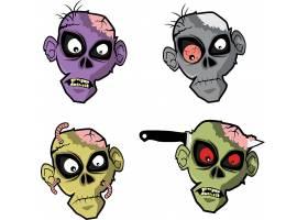 生化怪人头像插画设计