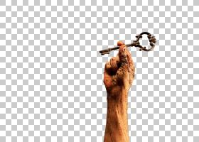 拿着金钥匙的脏的手