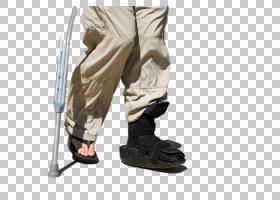 脚步受伤行走不便的人