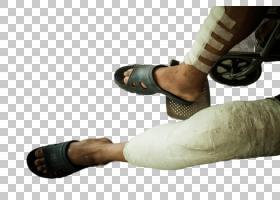 双腿受伤上石膏坐轮椅的男子