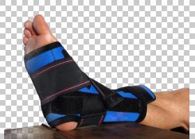 包裹的受伤的足部