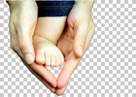 守护婴儿足部脚部特写