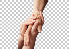 守护关爱老人的手