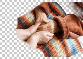 守护老人家的手