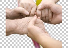 相互紧牵的手