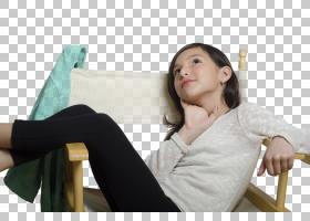 躺在椅子上的女孩