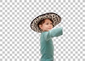 戴帽子的男孩