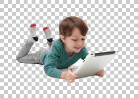 平板电脑和男孩