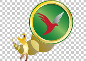 鸟牌标志,黄色,机翼,符号,喙,徽标,鸟儿,