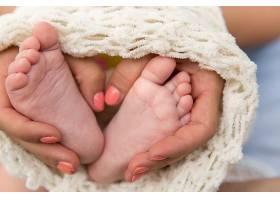 婴儿的脚底足部