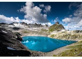唯美的天湖