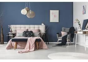 北欧风艺术创意时尚简洁卧室设计