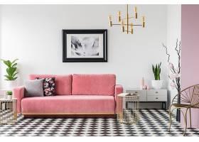 北欧风文艺时尚简洁客厅设计